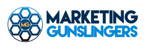 Marketing Gunslingers Block Logo